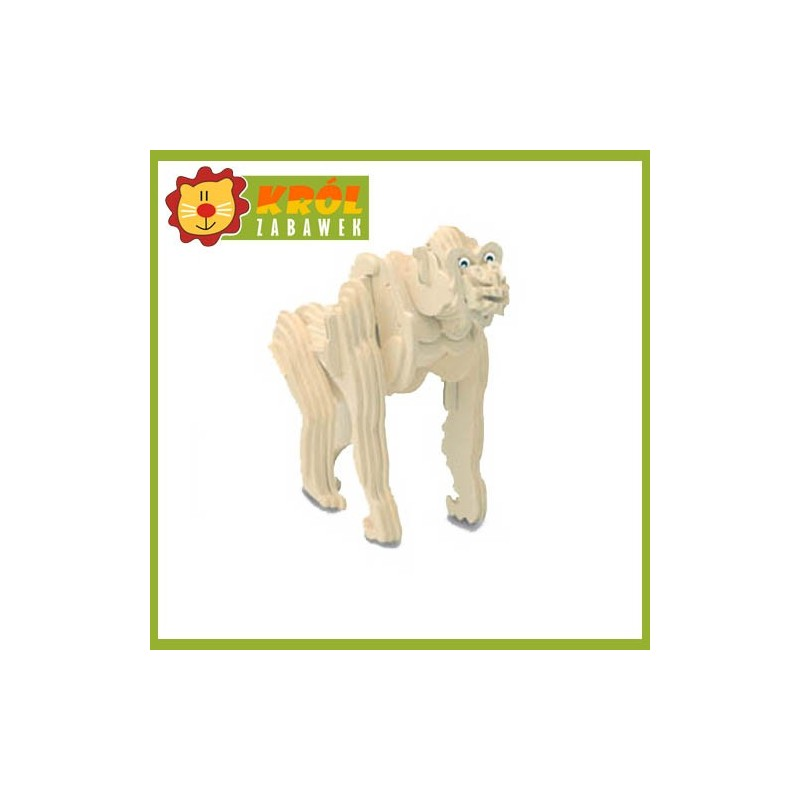 Puzzle 3D Goryl