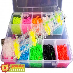 Rainbow Loom Bands 3000 szt + Akcesoria OUTLET