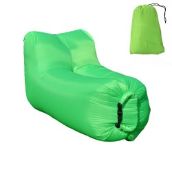 Lazy bag - air sofa fotel zielony