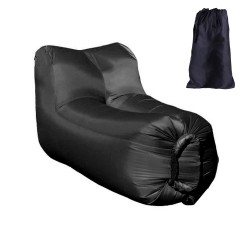 Lazy bag - air sofa fotel czarny