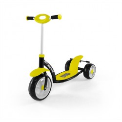 Milly Mally Hulajnoga Crazy Scooter Yellow (0239)