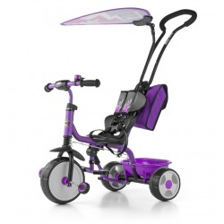 Milly Mally Rowerek Boby Deluxe 2015 Violet (0383, Milly Mally)