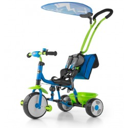 Milly Mally Rowerek Boby Deluxe 2015 Blue-Green (0384, Milly Mally)