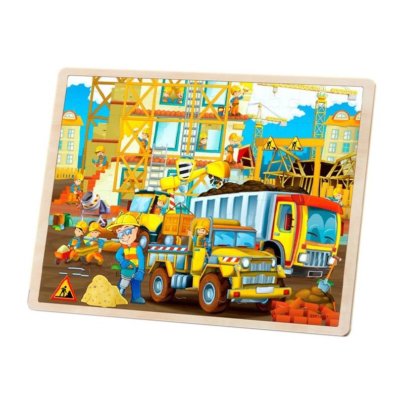 """Puzzle drewniane """"Budowa"""""""