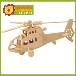 Puzzle 3D Helikopter wojskowy