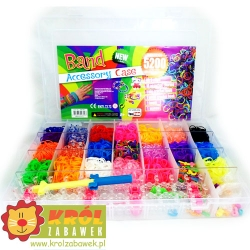 Rainbow Loom Bands 5200szt + Akcesoria OUTLET