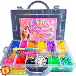 Rainbow Loom Bands 2400szt + Akcesoria OUTLET