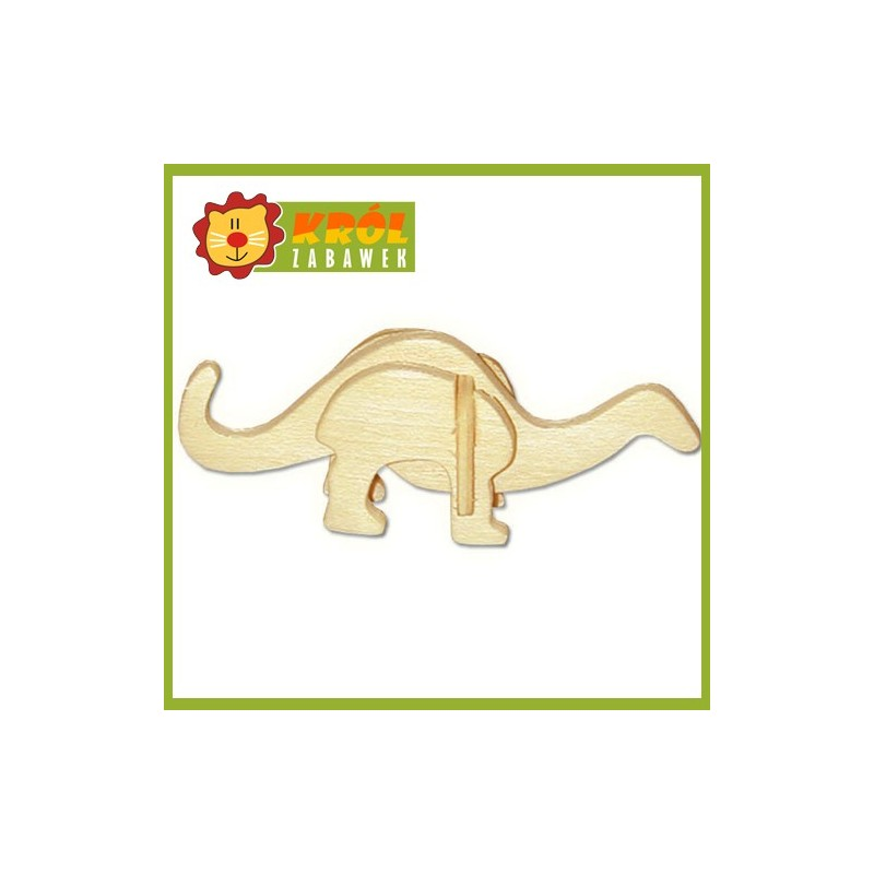 Puzzle 3D Mały Apatosaurus