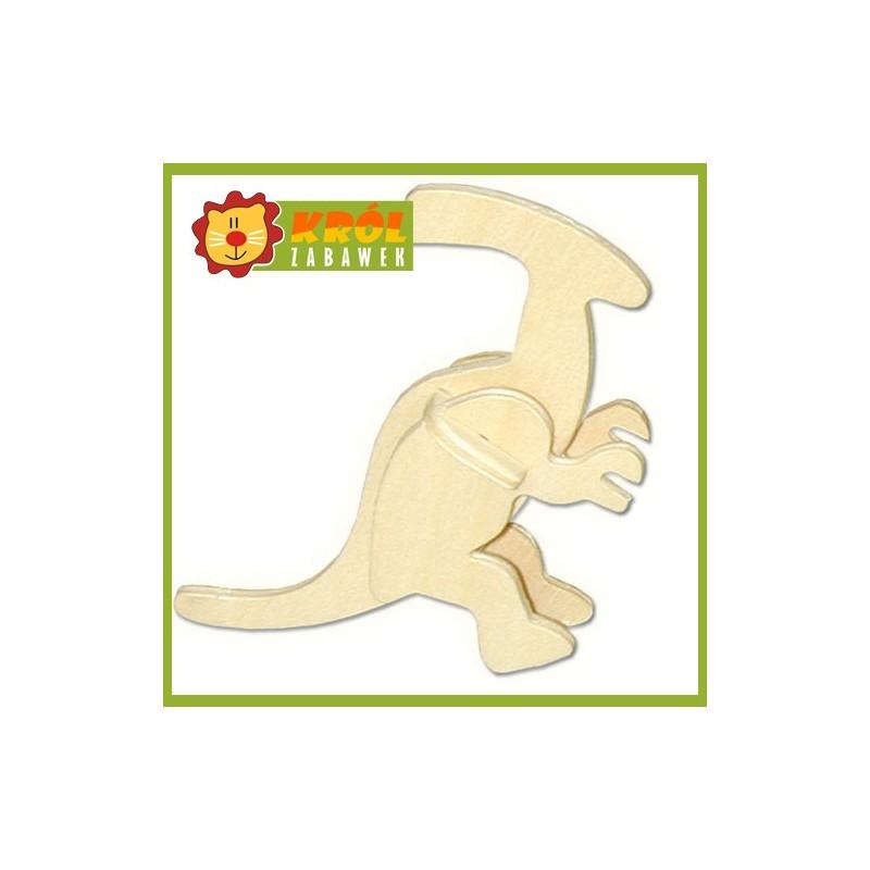 Puzzle 3D Mały Parasaurolophus