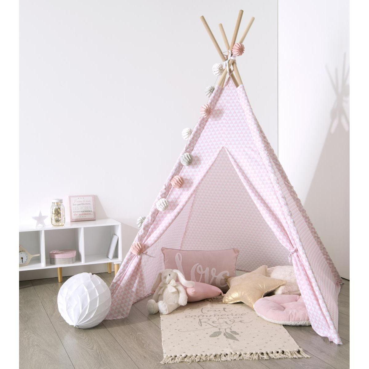 Namiot dla dzieci tipi bawełniany (KZ0589) KRÓL ZABAWEK